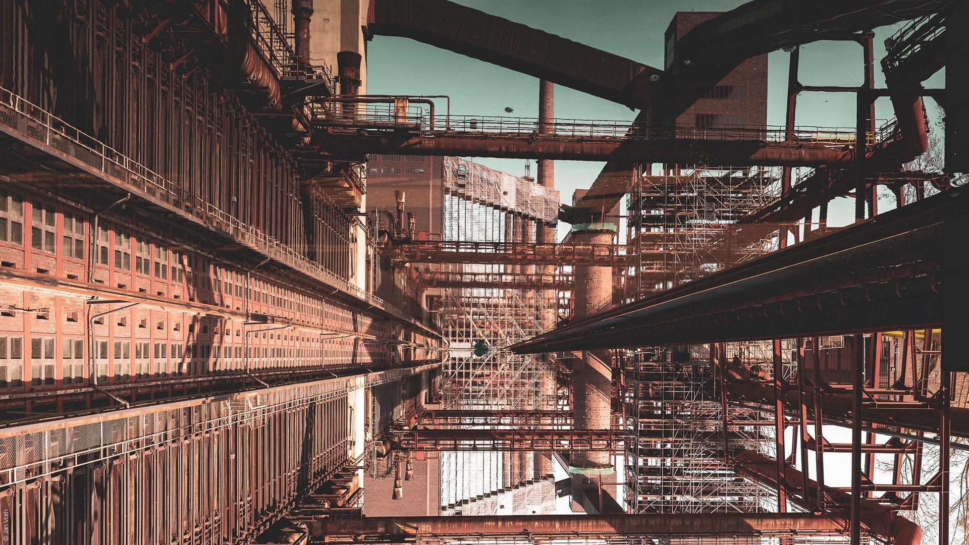Architekturfotograf Ruhrgebiet Zeche Zollverein Essen